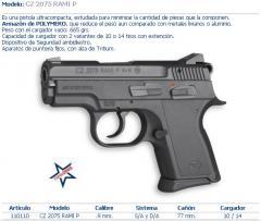 Pistola modelo 02