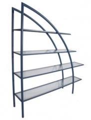 Mueble Metal Noa con estante