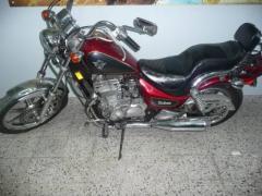 Motocicleta Chopera KAWASAKI VULCAN 500