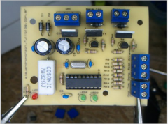 Placa de control con salida a relé