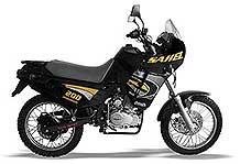 Motocicleta  Gilera Sahel 200