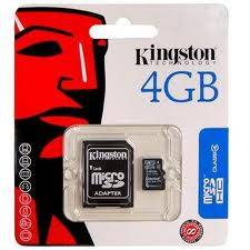 Memoria Kingston Sd 4gb