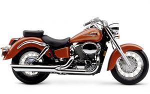 Motocicleta Chopera VT 750 SHADOW