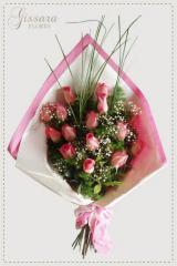 12 Rosas Rosadas