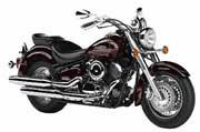 Motocicleta Chopera YAMAHA DRAGSTAR BURGUNDY