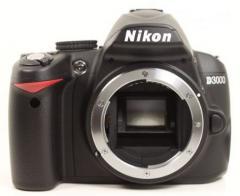 Nikon D-3000 con KIT 18-55 vr