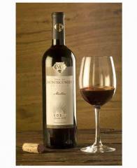 Vino rojo del Malbec de Monteconejo