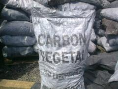 Charcoal for grilles and barbecue
