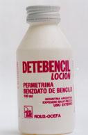 Loción ectoparasiticida Detebencil