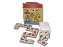 Domino Infantil de Madera (5 motivos)