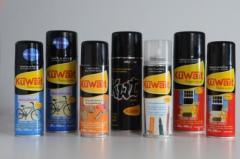 Metallic enamels and paints