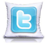 Almohadón Twitter