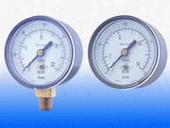 Manometros de 63 mm. P/Compresor y valvulas reductoras