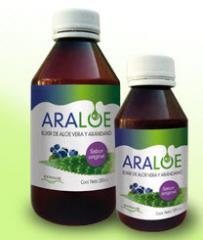 Araloe Elixir de Aloe Vera y Arándano