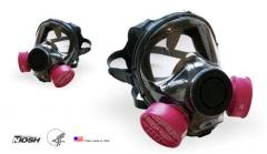Máscara respiratoria que cubre toda la cara