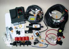 Sistema de inyección secuencial de GNC AX-PRO