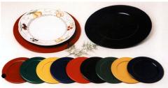 Platos de metal color