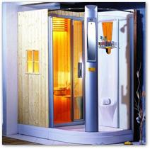 Saunas 1800 x 1000 x 2180 mm
