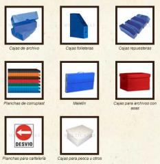 Cajas de Corrugado plastico