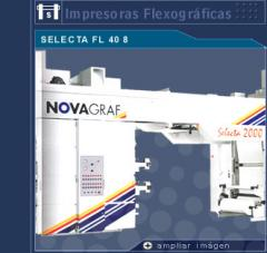 Impresora Flexografica SELECTA FL 408
