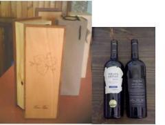 Fino estuche con vino artesanal Premiun Bodega