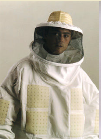 Holder of the coil (beekeeping)