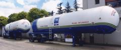 Tanques para transporte de GLP