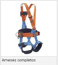 Protección de Altura (Arneses completos)