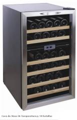 Cava de Vinos Bi-Temperatura p/38 botellas