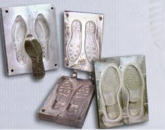 Molds for footwear sole casting