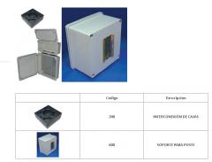 Cajas plásticas con apertura por pivote (serie CE)