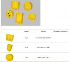 Cajas plásticas de embutir (serie CT)