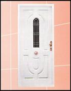 Puerta blanco
