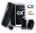 Computadoras armadas Cx12000I Pc Cx Intel Atom 410+320G+1G+DVDRW