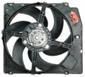 Electric fans for the cooling systems of internal combustion engines