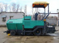 Machines for the building of asphalt-concrete coatings