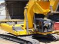 Excavadora hidráulica sobre carriles, marca XCMG, modelo XE 210