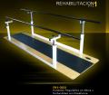 Paralelas regulables en altura y profundidad con plataforma
