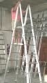 Escalera Tijera con plataforma y prolongacion