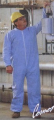 Overalls for protection against sparks and radiations