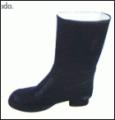Calzado con base de goma vulcanizada