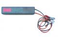 Voltímetro autoalimentado para batería