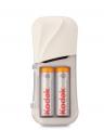 Cargador Kodak + 2 pilas recalgables