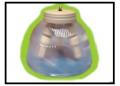 Pantalla de policarbonato de bajo consumo
