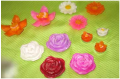 Velas Flores flotantes
