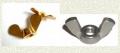 Mariposas de Hierro y Bronce