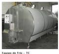 Tanques enfriadores de leche tipo cerrado horizontal
