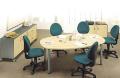 Mesa de reunión componible