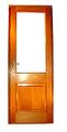Puerta exterior vidriada