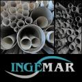 Polyethylene drainage pipes